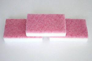Dual Sides Abrasive Magic Rub Eraser, Scouring Pad, Magic Sponge(DMS41)r